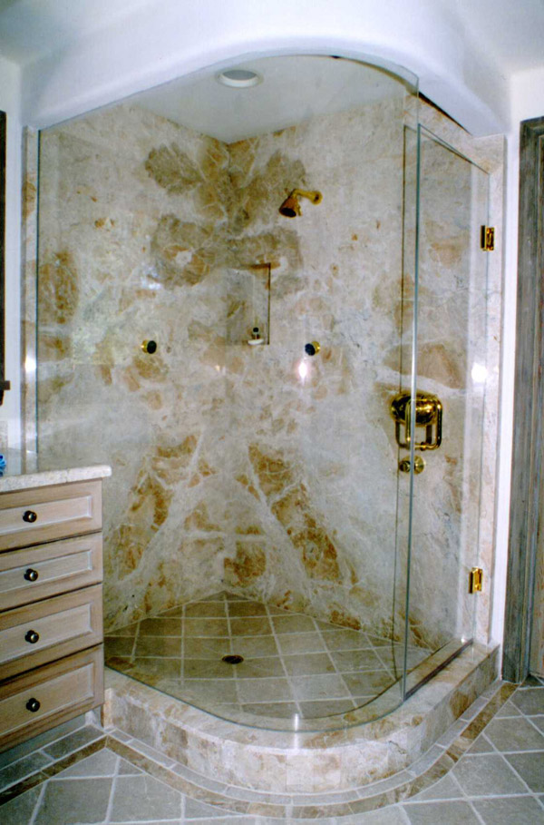 Bent Glass Showers Cape Coral, Florida