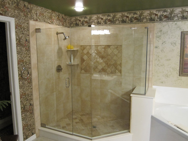 Frameless Shower Doors Cape Coral, Florida