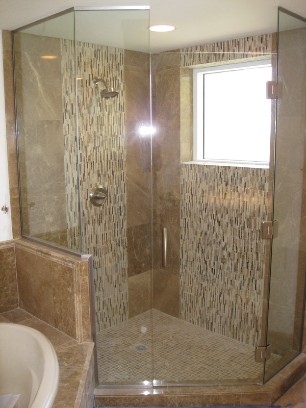 Hinged Shower Doors Cape Coral, Florida