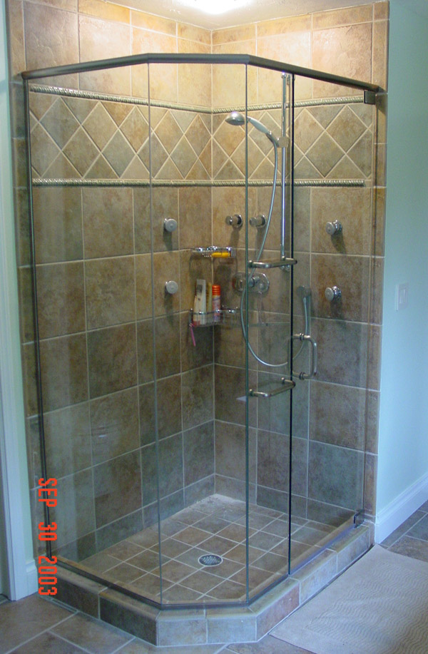 Multi-Panel Shower Doors Cape Coral, Florida