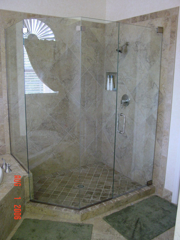 Pewter Shower Doors Cape Coral, Florida