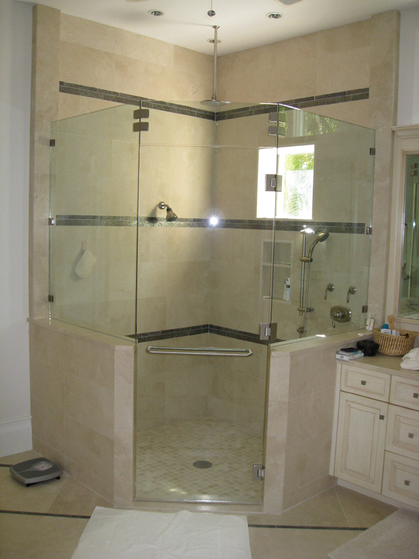 Seamless Shower Doors Cape Coral, Florida