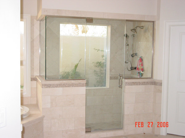 Steam Shower Doors Cape Coral, Florida