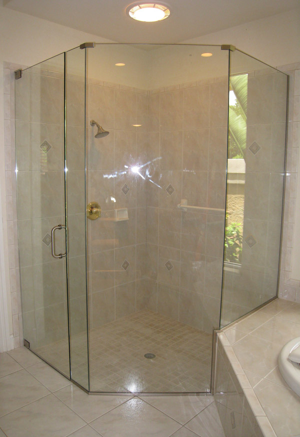 Neo Angle Shower Doors Golden Gate, Florida