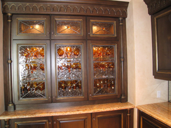 Cabinet Glass Captiva, Florida