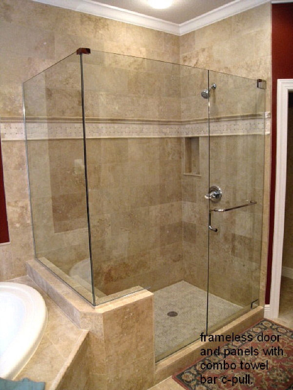 Corner Shower Doors Naples, Florida