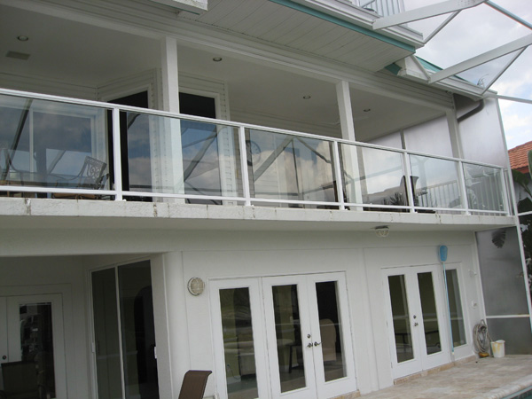 Glass Railings Captiva, Florida