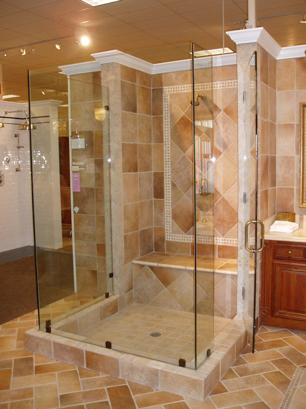 Heavy Glass Shower Doors Ft Myers, Florida