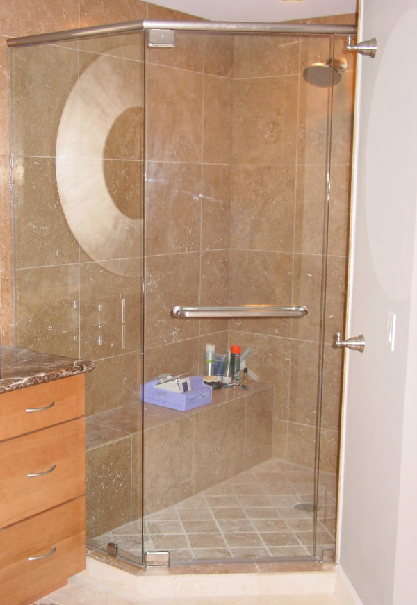 Nickel Shower Doors Naples, Florida